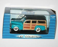Ford Woody (1948) Turquoise - 711 Collection Model Scale 1:43