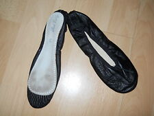 Roch Valley Black Ballet Shoes Size 3