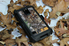 Samsung Galaxy S5 Case Blazed Camouflage Realtree (Clip Fits Otterbox Defender)