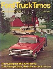 1974 Ford Truck Times Fall Brochure my4372