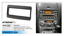 Xtrons 1Din Radio Fascia Facia Trim For TOYOTA Universal Avalon Corolla Harrier