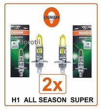 2x H1 All Season SUPER +30% OSRAM 12V 55W 64150ALS car Halogen philips Germany