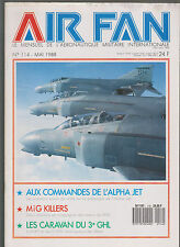 AIR FAN N°114 COMMANDES DES ALPHA JET / ALAT ET SES C-406 / MIG KILLERS