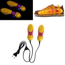 220V 10W EU Plug Racing Car Shape Light Voilet Shoe Dryer Odor Deodorant Heater