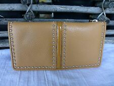 BRIGHTON NWT PRETTY TOUGH GINGER  LEATHER WALLET