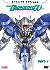 Mobile Suit Gundam 00: Season 2 Part 1 DVD 2-Disc Set with Manga, NEW & Sealed!