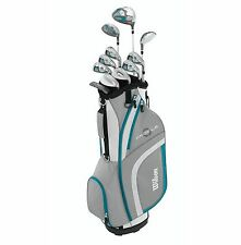WILSON Profile XLS Women's RH Petite Graphite Golf Club Package Set w/ Cart Bag