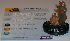 SQUIRREL GIRL #056 #56 Captain America HeroClix Super Rare