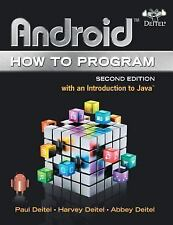 Android How to Program (2nd Edition)