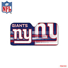 NFL New York Giants Car Truck Windshield Folding Auto Sun Shade Large Size