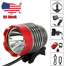 3000Lm CREE XML U2 LED Head Front Bicycle Lamp Bike Light Headlamp 18650 Charger