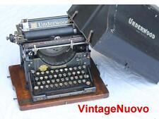 rare MACCHINA DA SCRIVERE UNDERWOOD N. 5 DEL 1899 VINTAGE TYPEWRITER no OLIVETTI