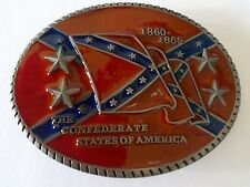 BC103 - BOUCLE DE CEINTURE COUNTRY  THE CONFEDERATE STATES OF AMERICA