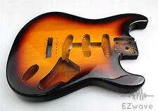 3 Tone Sunburst Finish Alder Guitar Body SSS Routing for Strat Guitar