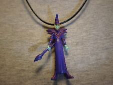 Yugioh Dark Magician Figure Charm Anime Necklace Collectible Cool Jewelry