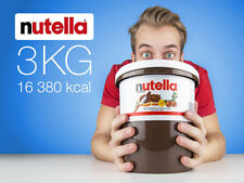 Nutella 3 kg (6.6 lb) Huge bucket Hazelnut Spread LOWEST PRICE EVER EXPEDITED