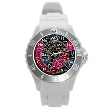 PERIODIC TABLE CHEMISTRY SCIENCE PLASTIC SPORTS WATCH UNIQUE - 8 COLORS NEW!