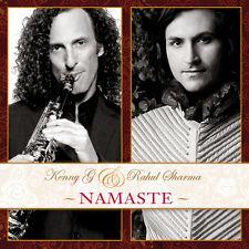 Namaste - Kenny G & Rahul Sharma (2012, CD NUEVO)