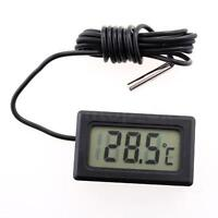 Digital LCD Display Thermometer For Refrigerator Freezer