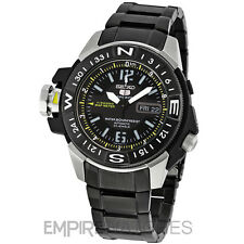 *NEW* SEIKO MENS AUTOMATIC MAP ATLAS DIVERS 200M WATCH - SKZ231K1 - RRP £330