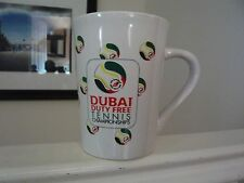 Dubai Tennis Duty Free Official Mug New Unsed!