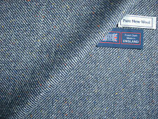 100% PURE NEW WOOL DONEGAL TWEED FABRIC – MADE IN HUDDERSFIELD ENGLAND - 2.1 m.