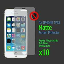 10 x iPhone 5 5G 5s Front Screen Protector film guard 100% Genuine Protectors