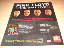 PINK FLOYD - THE WALL LIVE!!!!!!!!!!!PUBLICITE / ADVERT