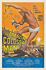 """Famous Monsters Amazing Colossal Man Poster  Replica 13x19"""" Photo Print"""