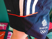 ADIDAS TEAM GB ISSUE - TRAINING FOR 2016 RIO - ATHLETE TECH SHORTS