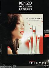 Publicité advertising 2013 Parfum Flower by kenzo chez Sephora