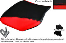 RED & BLACK CUSTOM FITS HONDA VTR RVT 1000 SP1 RC51 FRONT LEATHER SEAT COVER