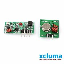 433 Mhz RF TRANSMITTER + RECEIVER MODULE LINK KIT for ARDUINO OTHERS MCU BE0034