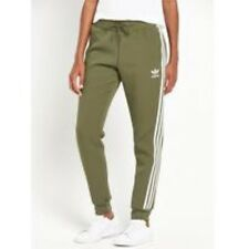 adidas Originals Cuffed Track Pant Olive Green Size UK 4 Box4691 i