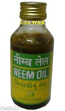 3 x Three Bottles of 100% PURE NEEM OIL Dandruff Itchy Scalp Hair & Skin Care