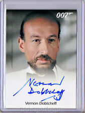 JAMES BOND 50TH ANNIVERSARY VERNON DOBTCHEFF AUTOGRAPH