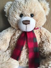 Brown Teddy Bear With Scarf - Keel Toys Super Soft Kids Toy