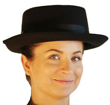 Steam-punk-victorian-mary poppins-nanny-black Cappello Taglia unica solo