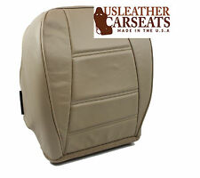 2001 2002 Ford Mustang V6 Coupe Driver Side Bottom Leather Seat Cover Tan