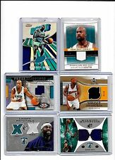 BARON DAVIS LOT OF {6} MINT ALL DIFFERENT AUTHENTIC GAME USED JERSEY CARDS