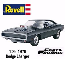 NEW REVELL FAST AND FURIOUS 1970 VINTAGE DODGE CHARGER PLASTIC MODEL 854319!!