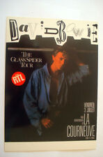 CPA DAVID BOWIE THE GLASS SPIDER TOUR CARTE POSTALE