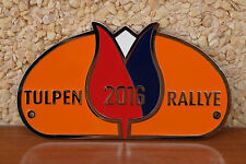 TULIP RALLYE - TULPEN RALLYE RAC WEST HOLLAND 2016 car Badge