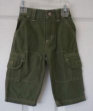 New Gymboree Stunt Pilot Green Cargo Pants Boy's Size 18-24M