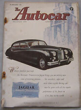 Autocar 20/1/1956 featuring Rover 90 road test, SAAB 93