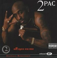 All Eyez on Me Enhanced, Explicit Lyrics, Original recording remastered 2Pac