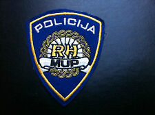 Patch MUP RH - CROATIA POLICE MINISTRY OF INTERNAL AFFAIRS - Hrvatska Policija