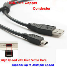 3m Meter 2.0 Mini USB Charger Cable Cord For Sony PS3 Controller Pure Copper New