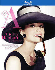 Audrey Hepburn Collection (Blu-ray Disc, 2014, 3-Disc Set)