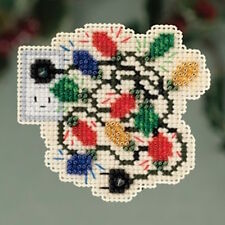 10% Off Mill Hill Winter Holiday Collection X-stitch/Bead Kit - Christmas Lights
